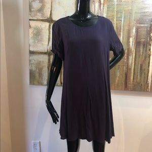 Lush Textured Swing Dress Size Large